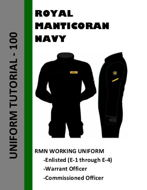 Working Uniform Tutorial