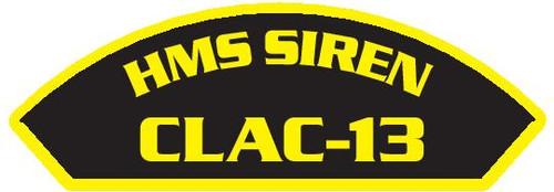 HMS Siren CLAC-13