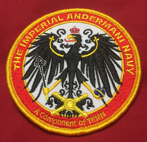 Imperial Andermani Navy Logo Patch
