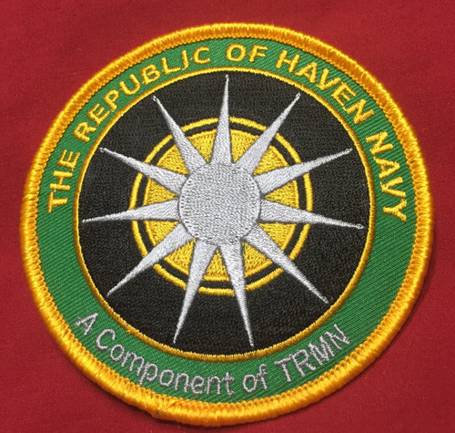Republic of Haven Navy Logo Patch