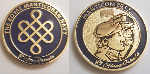 Manticon 2017 Challenge Coin