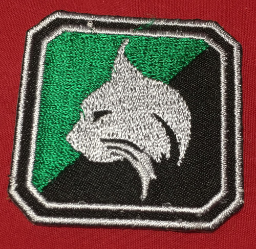 10th Fleet Regimental Patch, The Lynx Regiment
