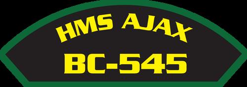 HMS Ajax BC-545 - Marine Patches