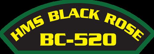 HMS Black Rose BC-520 - Marine Patches