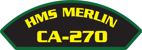 HMS Merlin CA-270 - Marine Patches