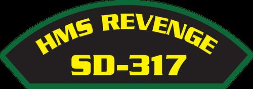 HMS Revenge SD-317 - Marine Patches