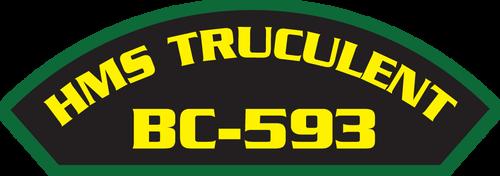 HMS Truculent BC-593 - Marine Patches