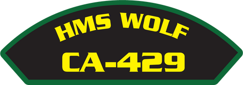 HMS Wolf CA-429 - Marine Patches
