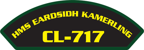 HMS Earsidh Kamerling CL-717 - Marine Patches