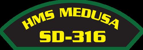 HMS Medusa SD-316 - Marine Patches