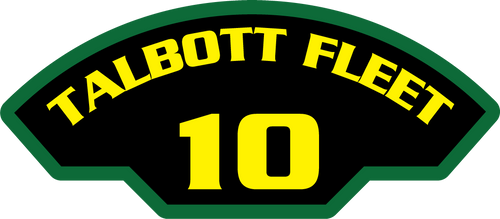 10th Talbott Fleet - Marine Patches