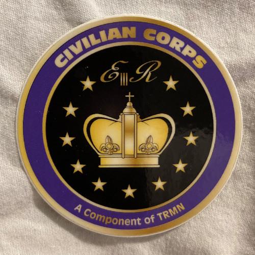 Civilian Corps Sticker