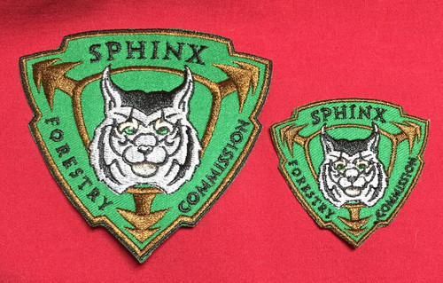 Mini Sphinx Forestry Commission Patch