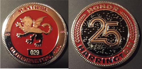 Manticon 2018 Challenge Coin