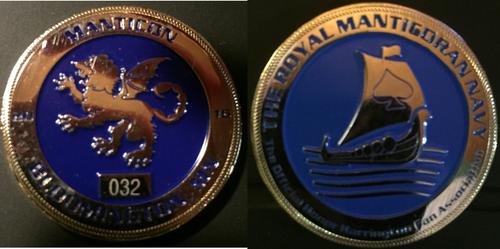 Manticon 2016 Challenge Coin