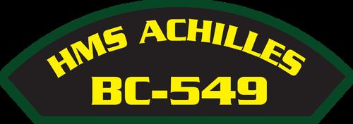 HMS Achilles BC-549 (Marine Patches)