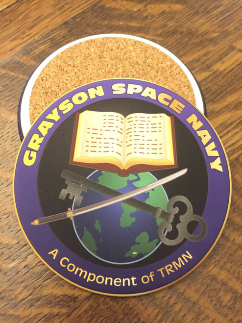 Grayson Space Navy Coaster