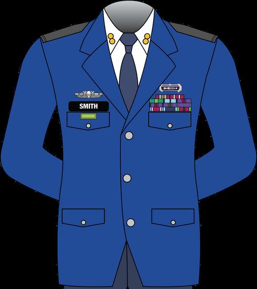 52 Short Bandshope Grayson Officer Service Dress Jacket