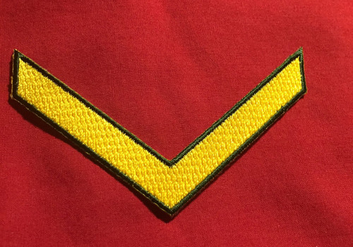 RMMC Enlisted Chevron (Yellow)