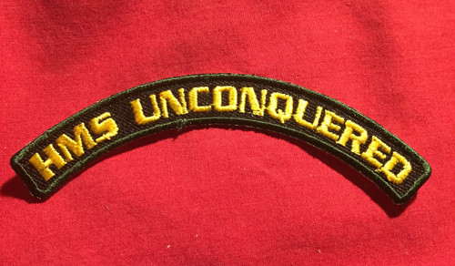 HMS Unconquered Marine Patch