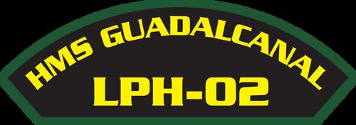 HMS Guadalcanal LPH-02 - Marine Patches