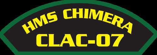HMS Chimera CLAC-07 (Marine Patches)