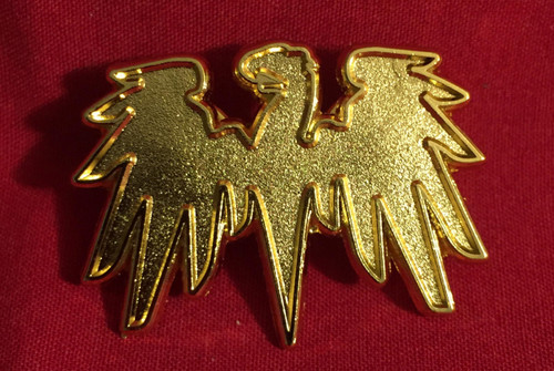 IAN Gold Eagle Pins (Pair)