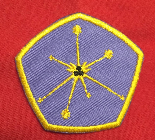 Royal Manticoran Astro Control Service Beret Patch
