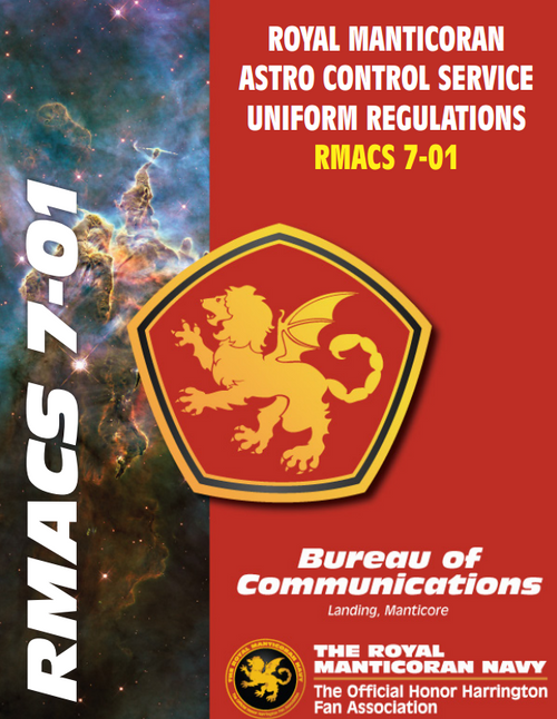 Royal Manticoran Astro Control Service Uniform Regulations. RMACS 7-01