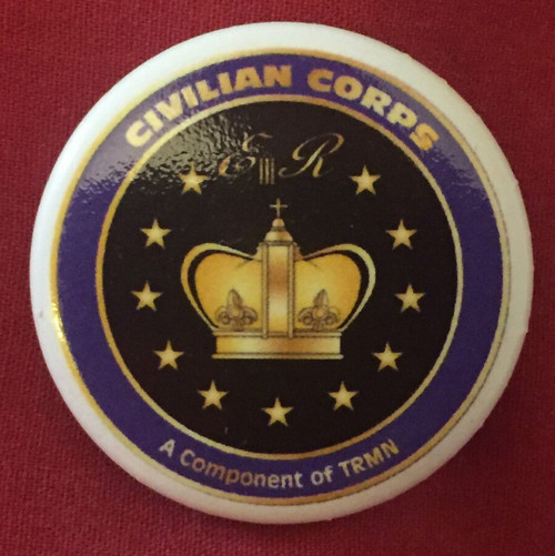 Civilian Corps Pin Badges / Pin Buttons (Pack of 10)