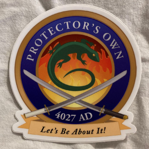 Protector's Own Sticker (3 inch)