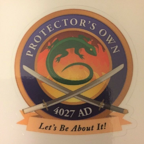 Protector's Own sticker