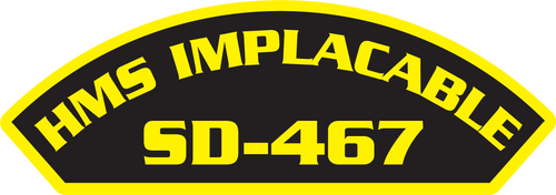 HMS Implacable SD-467