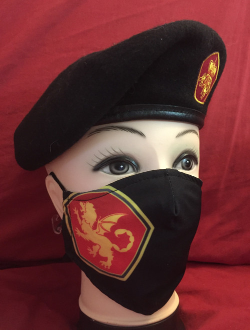 RMN Shoulder patch Face Mask