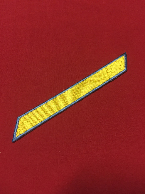 RMA Enlisted Stripe (Yellow)
