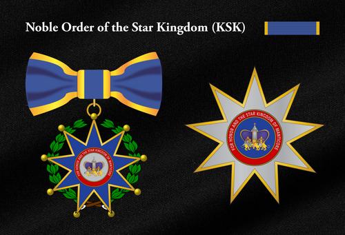 Order of The Star Kingdom Sash