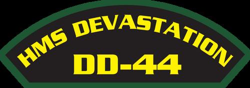 HMS Devastation DD-44 (Marine Patches)