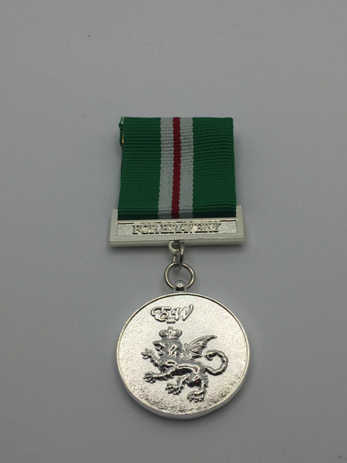 Conspicuous Bravery Medal - Metal Medal - Front