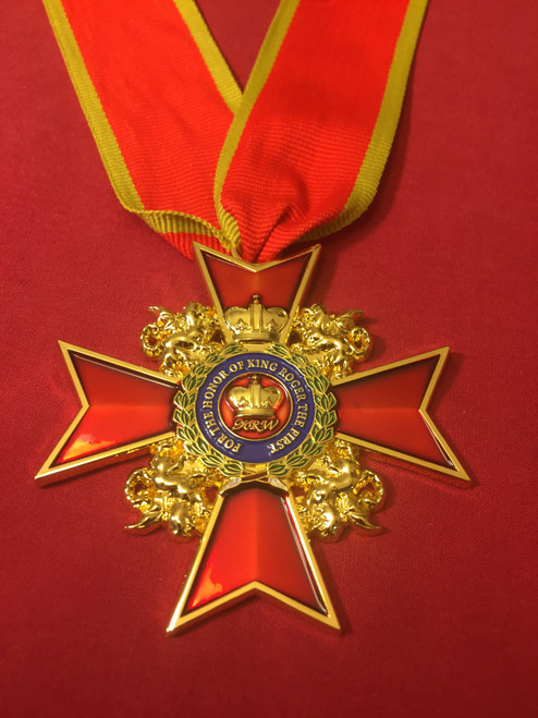 04 - Order of King Roger Neck Medal