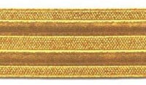 Gold RMN Officers Dress Trouser braid stripe