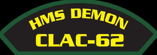 HMS Demon CLAC-62 Marine