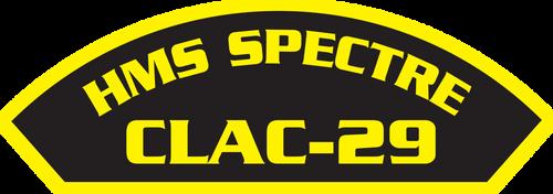 HMS Spectre CLAC-29 Ship Patch.