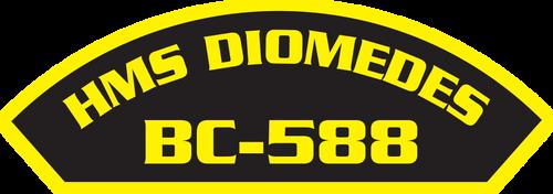 HMS Diomedes BC-588