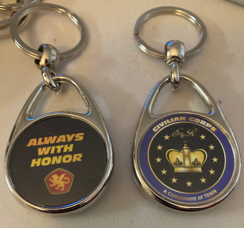 Always With Honor Civilian Corps Keyring