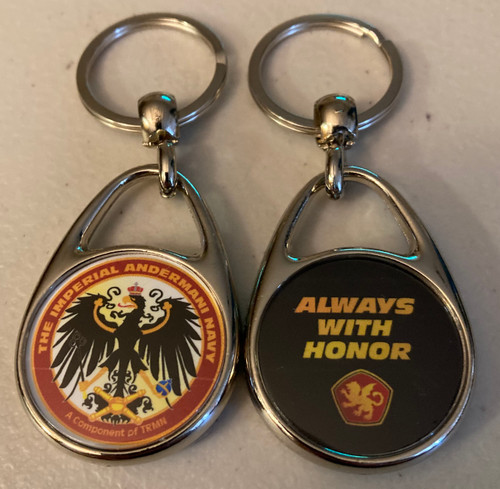 Always With Honor Imperial Andermani Navy Keyring