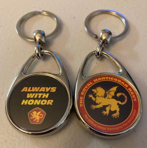 Always With Honor Royal Manticoran Navy Keyring