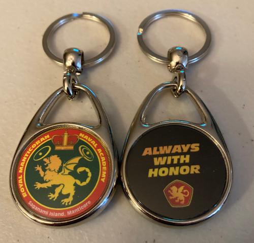 Always With Honor Royal Manticoran Naval Academy Keyring