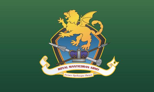 The Royal Manticoran Army Flag