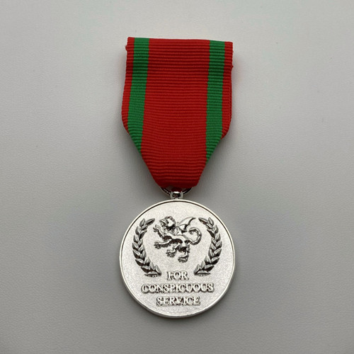 38 - Conspicuous Service Medal - Metal Medal