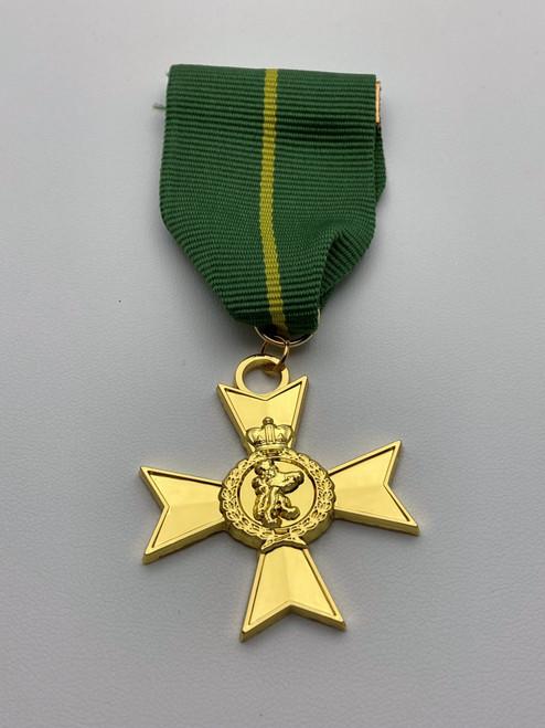 Officer of the Order of the Golden Lion - Metal Medal